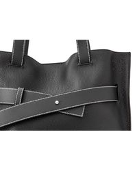 Loewe - Black Strap Vertical Tote Bag for Men - Lyst