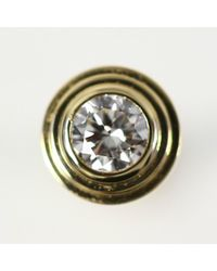 Cartier - Metallic Dierman Leger / 18k Yellow Gold / 750-1.0 G / (0.04 + 0.04) 2 Stones Total 0.80 Ct / B 830 1215 / Yellow Gold - Lyst