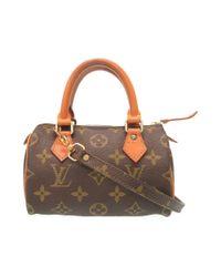 b79b6ac25d4b Louis Vuitton. Women s M41534 Mini Speedyhand Bag Brown Monogramcanvas ...