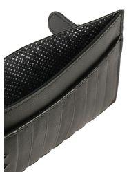 Bottega Veneta - Black Card Holder. - Lyst