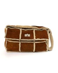 Chanel - Brown Mutton Shoulder Flap Bag - Lyst