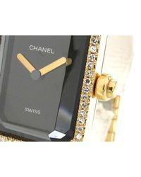 Chanel - Black Premi?re L Diamond Bezel Watch Quartz K18yg (750) X Diamond - Lyst