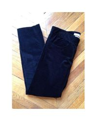 Isabel Marant - Black Velvet Trousers for Men - Lyst