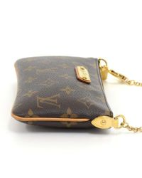 Louis Vuitton - Brown Milla Pm Monogram Canvas Chain Strap Pouch - Lyst