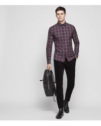 Reiss - Purple Amarvi for Men - Lyst