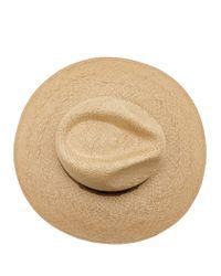 Reiss - Natural Bridie Wide-brim Straw Hat - Lyst