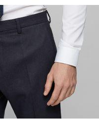 Reiss - Blue Harry Modern Fit Suit Trousers for Men - Lyst