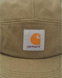 Carhartt - Hat, Olive Green Logo Baseball Cap for Men - Lyst