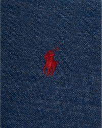Ralph Lauren - Blue Slim Fit Polo, Cotton Mesh Indigo Polo Shirt for Men - Lyst
