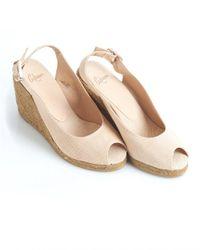 Castaner - Natural Sandals - Lyst