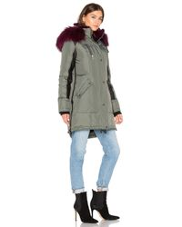 Nicole Benisti - Multicolor Chelsea Silver Fox And Asiatic Rabbit Fur Lined Parka - Lyst