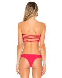 Mikoh Swimwear - Multicolor Sunset Bikini Top - Lyst