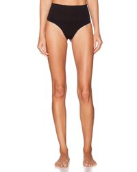 Spanx - Black Everyday Shaping Thong - Lyst