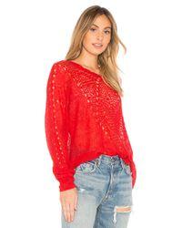 Wildfox - Red Solid Sweatshirt - Lyst