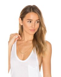 Natalie B. Jewelry - Metallic Madison Ave Bralette - Lyst
