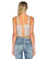 Frasier Sterling - Metallic After Party Tank - Lyst