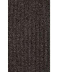 NYTT - Black Rib Skirt - Lyst