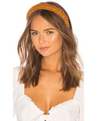 DONNI. - Multicolor Dolce Velvet Headband - Lyst