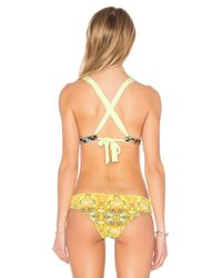 Maaji - Yellow Veranda Palms Top - Lyst