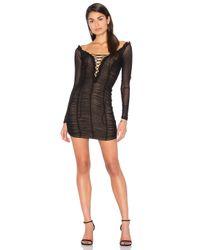 MAJORELLE Black Darling Dress