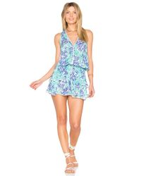 Poupette | Blue Jolie Mini Dress | Lyst