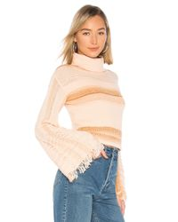 Free People - Pink Close To Me Pullover - Lyst