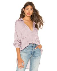 Free People - Purple Starry Dreams Pullover - Lyst