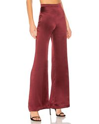 Amanda Uprichard - Red Elliot Pants - Lyst
