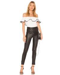 StyleStalker - White Dahlia Bodysuit - Lyst
