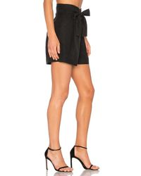 Apiece Apart - Black Baja Wrap Shorts - Lyst