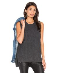 Baldwin Denim | Multicolor Moe Sleeveless Sweater | Lyst