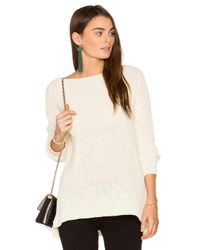BB Dakota | White Stratford Sweater | Lyst