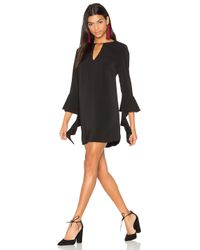 C/meo Collective - Multicolor Spelt Out Long Sleeve Dress - Lyst