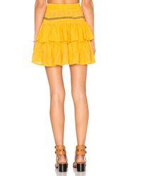 Cleobella - Yellow Lara Skirt - Lyst