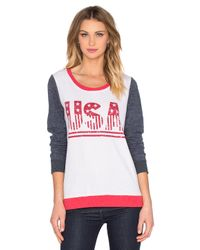 Chaser - Pink Usa Long Sleeve Tee - Lyst