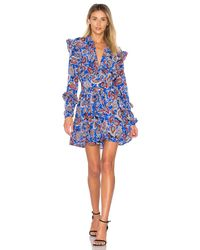 Dodo Bar Or   Blue Jagger Mini Dress   Lyst