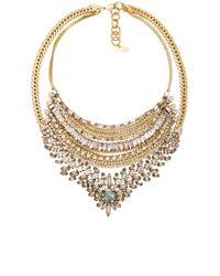 Elizabeth Cole | Metallic Necklace | Lyst