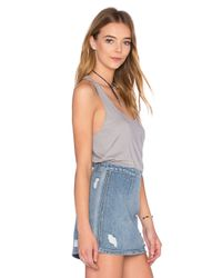 Fine by Superfine - Gray Vest Tank - Lyst