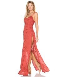Flynn Skye - Red Cyd Jersey Dress - Lyst