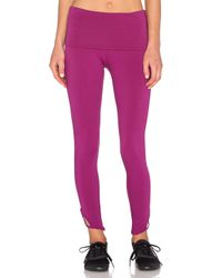 Free People | Purple Moonshadow Legging | Lyst