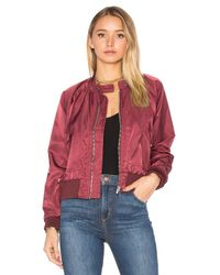 Free People | Multicolor Midnight Bomber | Lyst