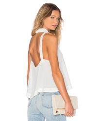 Free People | Blue City Lights Cowl Top | Lyst