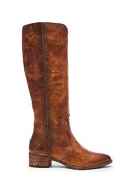 Frye | Brown Ray Seam Tall Boot | Lyst