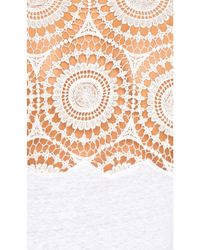 Generation Love - White Veronica Linen Top - Lyst