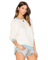 The Great - Multicolor The College Sweatshirt - Lyst
