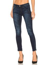 G-Star RAW | Blue 5620 Custom Skinny Jean | Lyst