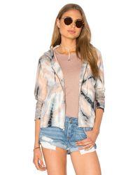 Gypsy 05 | Multicolor Crop Zip Hoodie Jacket | Lyst