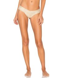 Hanky Panky | Multicolor Golden Leopard Low Rise Thong | Lyst