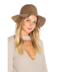 Hat Attack | Natural Crushable Luxe Felt Hat | Lyst