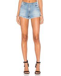 Hudson Jeans | Multicolor Tori Slouchy Short | Lyst
